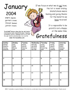 Download January 2004 Calendar - Gratefulness