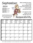 TerraCuddles Calendar - September 2004