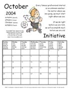 TerraCuddles Calendar - October 2004