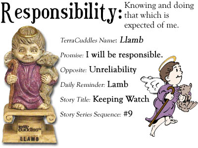 Responsibility:  Knowing and doing that which is expected of me.